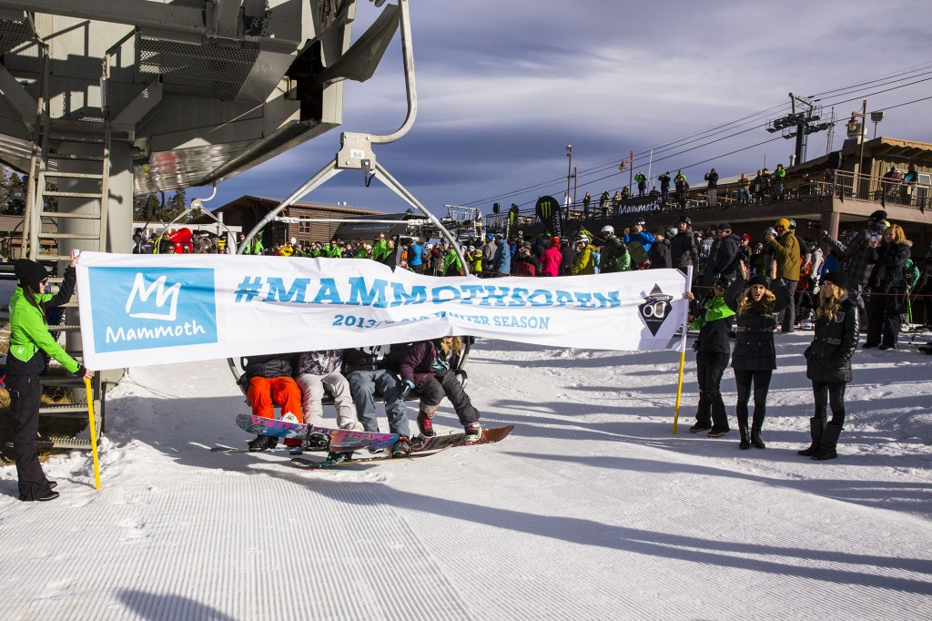 Mammoth - one of the longest ski seasons anywhere and the highest skiable terrain in the USA