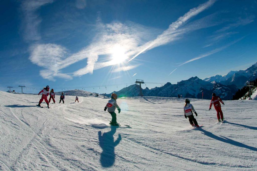 best family ski holidays
