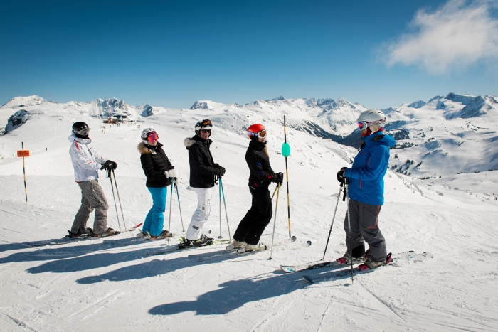 Great conditions for spring ski lessons
