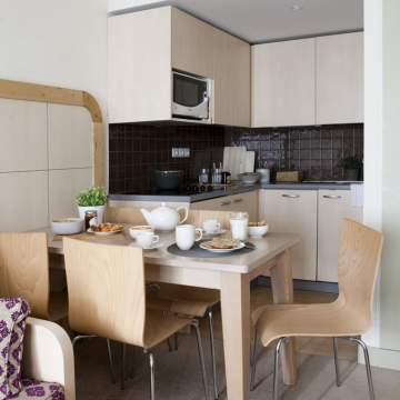1 Bedroom Apartment - Kitchen and dining