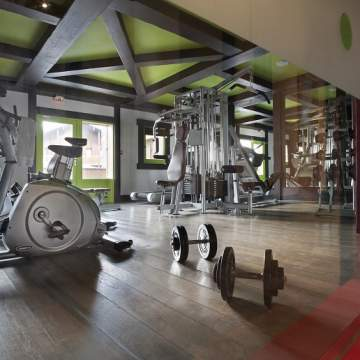 Fitness Room - studio bergoend