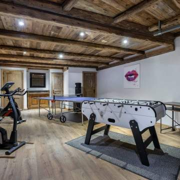 Games & Fitness Room