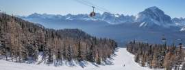 Photograph of Lake Louise ski resort
