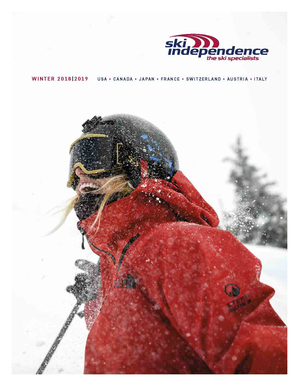 brochure request ski independence