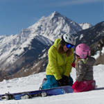 Family Skiing - Aspen