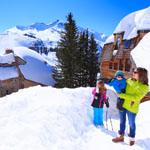Family Skiing - Avoriaz
